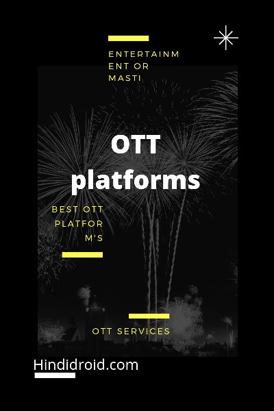 OTT platforms for Android