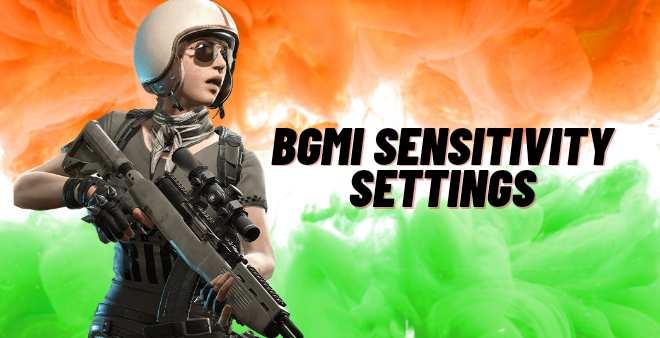 Bgmi sensitivity settings
